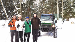 SBHT Winter Page | Sleeping Bear Heritage Trail Winter Page